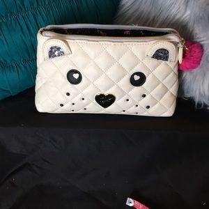 Betsey Johnson Medium Cosmetic Bag